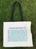 Large Canvas Shopper with logo